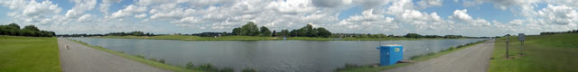 Holme Pierrepont Rowing Course Panorama