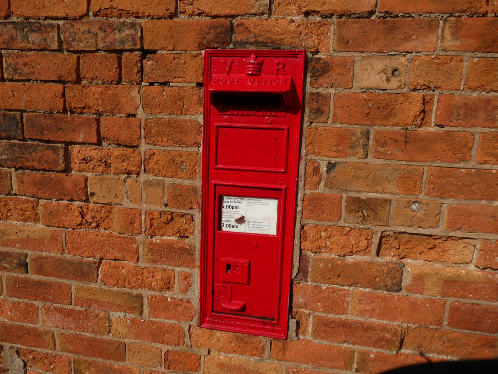 Photo of VR letter box